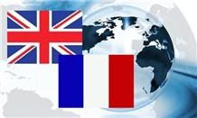 Französisch-Englisch