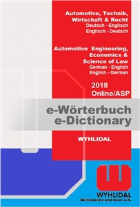 WYHLIDAL 2018 Automotive Engineering, Economics & Science of Law, 2 months subscription:   You get access to WYHLIDAL 2018 Automotive Engineering, Economics & Science
