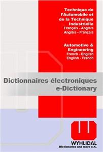 WYHLIDAL Automotive & Engineering:    French-English/English-French    The whole WYHLIDAL dictionary, including